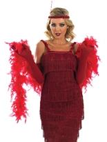 années 1920 roaring clapet rouge Costume Deguisement cabaret