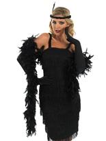 années 1920 roaring clapet noir Costume Deguisement cabaret