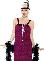 Costume rouge clapet Jazz Deguisement cabaret