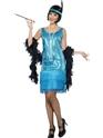 Deguisement cabaret Costume coquin Flapper