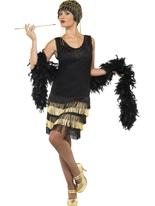 années 1920 bordées de clapet Costume Deguisement cabaret