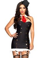 Costume Gangster Suzy silencieux Deguisement cabaret