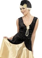 la vingtaine Gatsby Girl Costume Deguisement cabaret