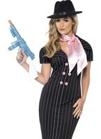 Moll Costume de Mesdames Gangster Deguisement cabaret