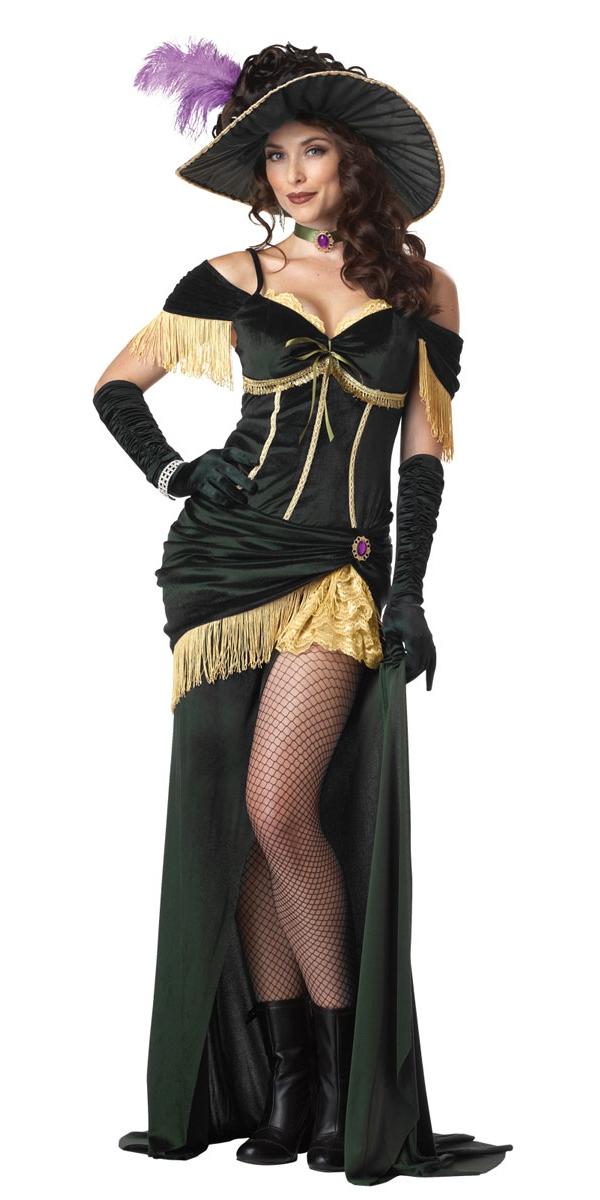 déguisement femme western saloon