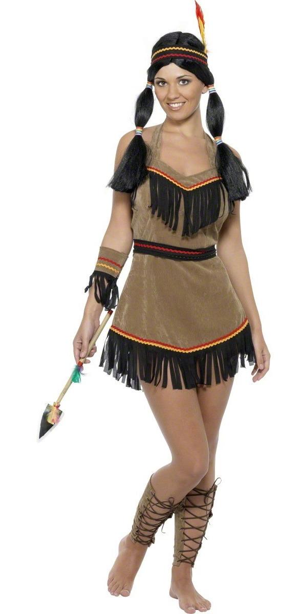 Deguisement cowgirl Costume femme indienne