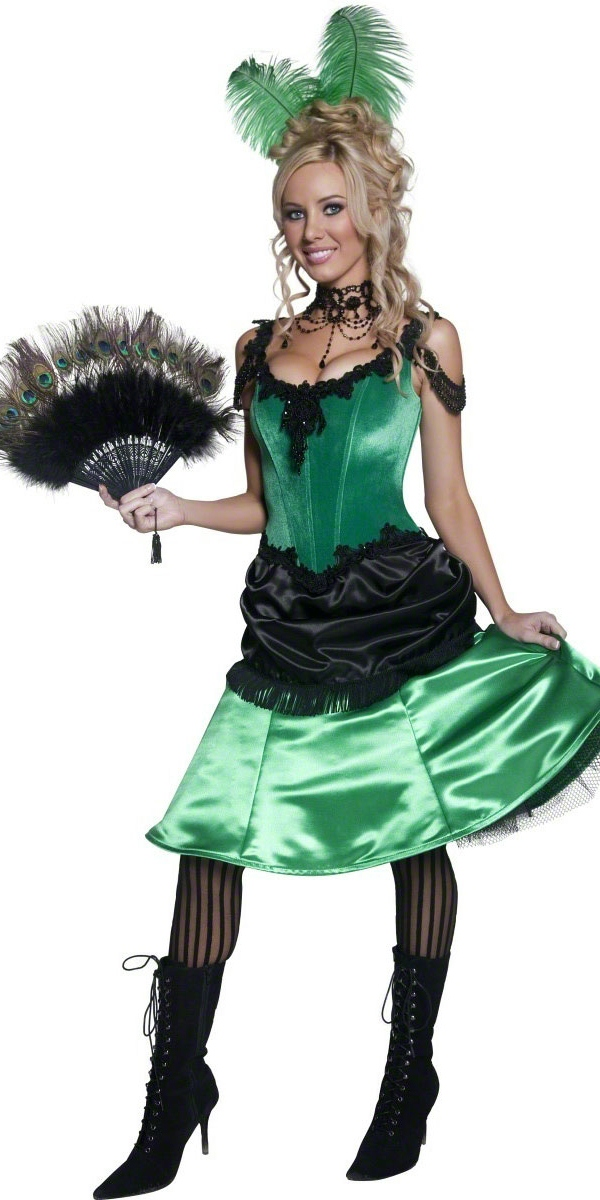Deguisement cowgirl Western Saloon Girl Costume