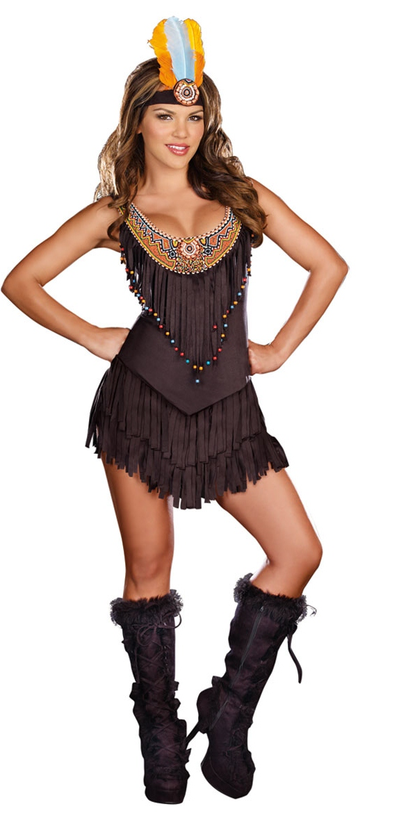 Deguisement cowgirl Réservation Royalty Indian Girl Costume
