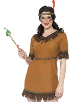 Costume de jeune fille indienne Deguisement cowgirl
