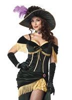 Costume de Madame Saloon  Deguisement cowgirl