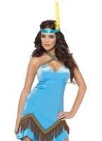 Costume d'Indien fièvre Deguisement cowgirl