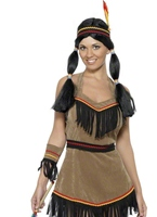 Costume femme indienne Deguisement cowgirl