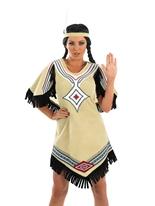 Costume de Scout indien Deguisement cowgirl