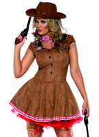 Costume Far West Deguisement cowgirl