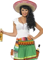 Tequila Shooter Girl Costume Deguisement cowgirl
