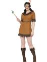 Deguisement cowgirl Costume de jeune fille indienne