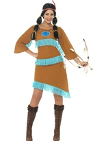 Costume de princesse indienne Deguisement cowgirl