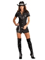 Deguisement cowgirl Costume cow-girl strass