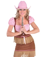 Costume de luxe Cowgirl 2 pièce Deguisement cowgirl
