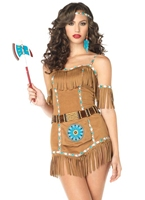 Costume d'Indien déesse tribal Deguisement cowgirl