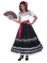 Costume authentique Senorita Sexy ouest Deguisement cowgirl
