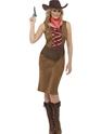 Deguisement cowgirl Costume Cowgirl frange