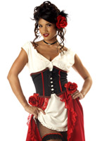Cantina Gal Costume Deguisement cowgirl