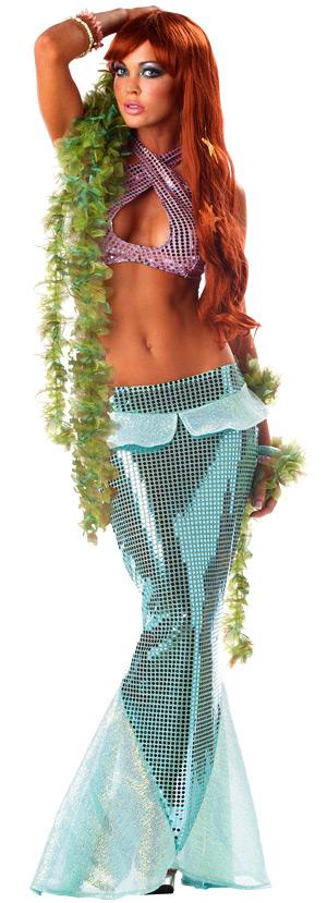 Deguisement de fée Costume de sirène envoûtante