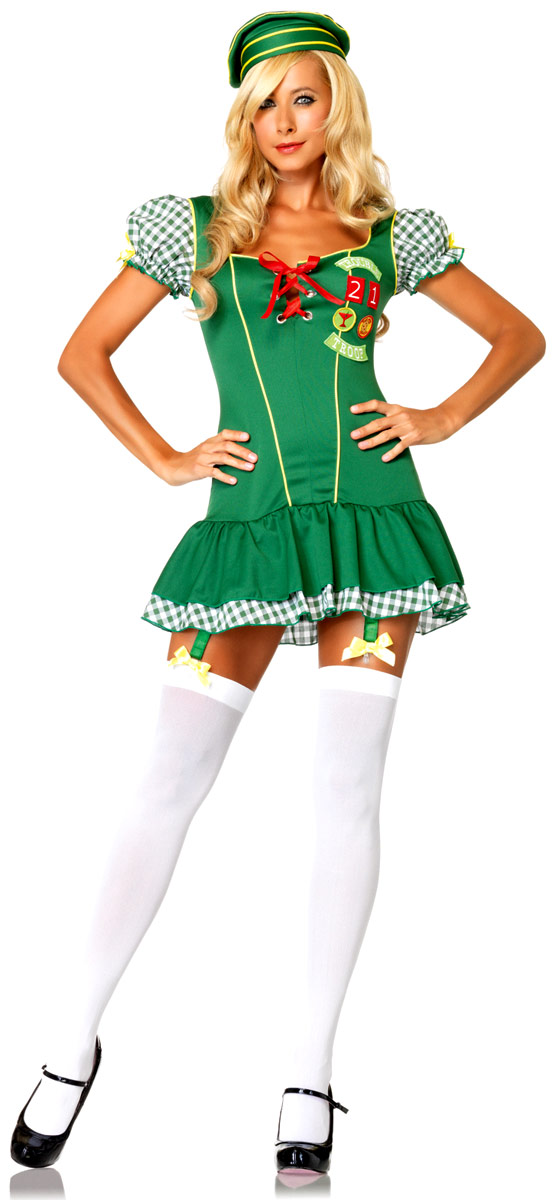 Deguisement ecoliere Costume de Scout de trouble