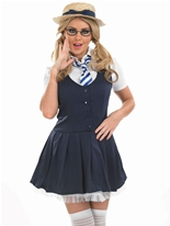 School Girl Tutu Costume Deguisement ecoliere