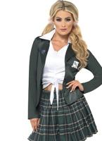 Costume d'écolière BCBG Deguisement ecoliere