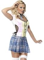 Fièvre School Girl Costume de Bling Deguisement ecoliere