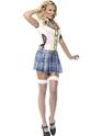 Deguisement ecoliere Fièvre School Girl Costume de Bling