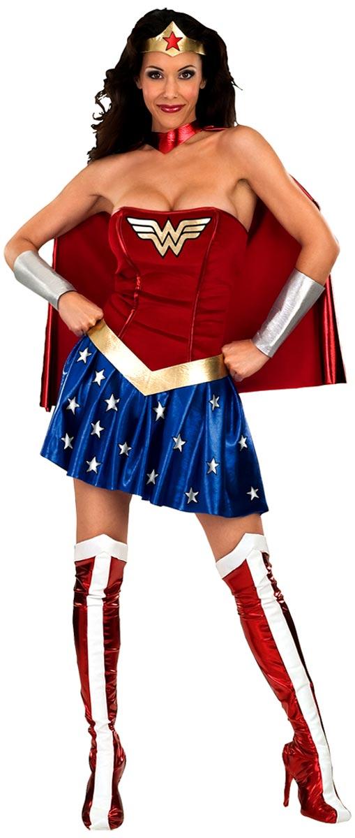 Deguisement super héros Costume de femme de merveille