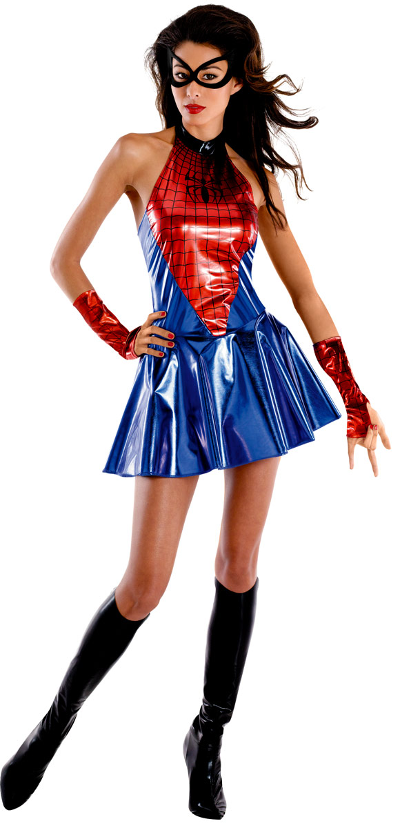Deguisement super héros Spider Girl Costume de luxe