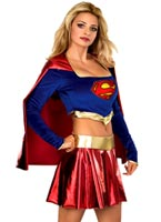 Costume de Supergirl 2PC Deguisement super héros