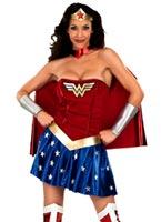 Costume de femme de merveille Deguisement super héros