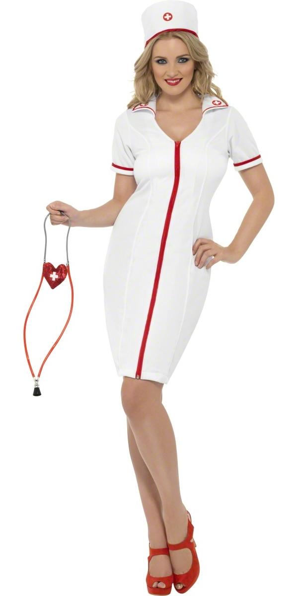 Deguisement infirmière Zip Up Costume infirmière