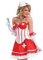 Costume infirmière Tutu sexy Deguisement infirmière