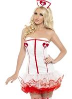 Costume infirmière de Tutu de fièvre Deguisement infirmière