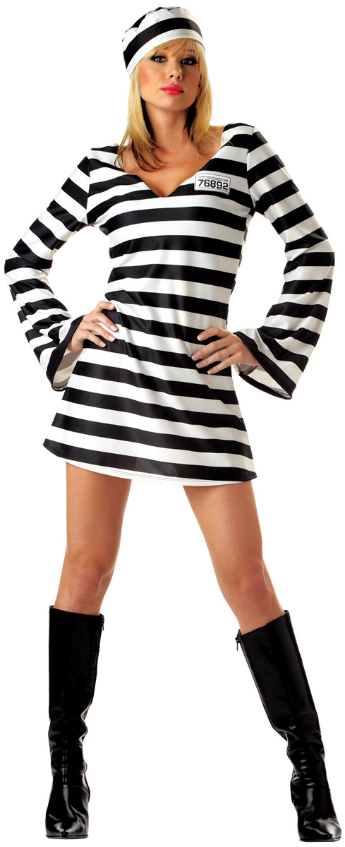 De Le Deguisement Policiere Costume Condamner Chick Prisonnier 9DeWH2IEYb