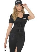 US Swat femme Costume Deguisement policiere