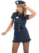 Costume de fille de police Deguisement policiere