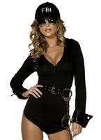 Costume de Police FBI Fantasy fièvre Deguisement policiere