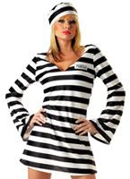 Condamner le Costume de prisonnier Chick Deguisement policiere