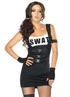 Costume de policier SWAT sensuelle Deguisement policiere