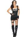 Deguisement policiere Costume de policier SWAT sensuelle