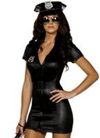 Costume de flic Sexy de fièvre Deguisement policiere