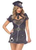 Costume de luxe Candy Cop Deguisement policiere