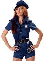 Costume de flic Sexy Lady Deguisement policiere